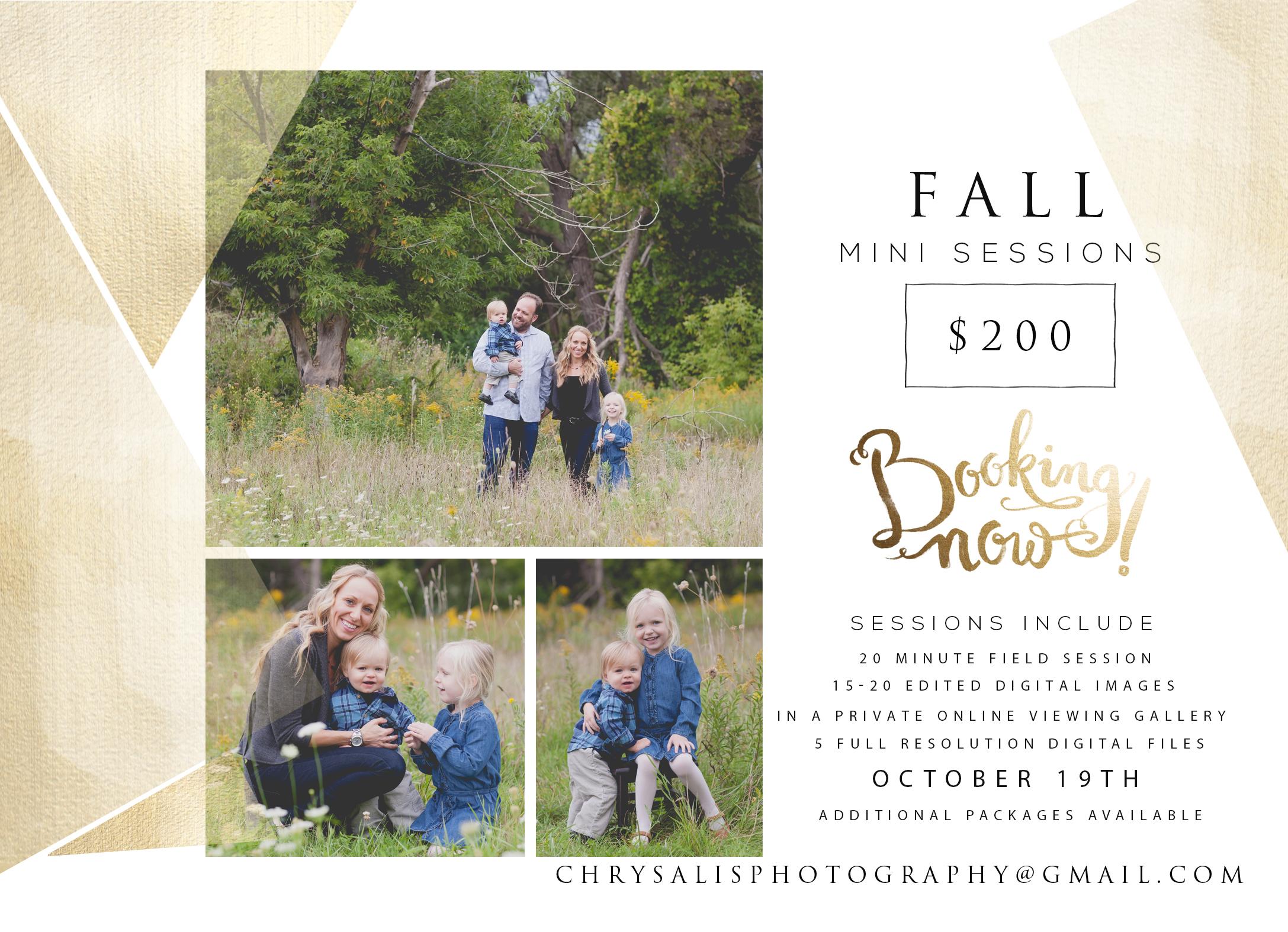 Fall Mini Sessions!!! {Eden Prairie Family Photographer